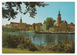 Kitzingen Am Main - Blick Auf Die Altstadt Mit Der Kath. Stadtpfarrkirche St. Johannes Und Der Evang. Petrinikirche - Kitzingen