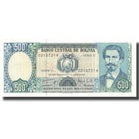 Billet, Bolivie, 500 Pesos Bolivianos, 1981, 1981-06-01, KM:166a, SPL+ - Bolivie