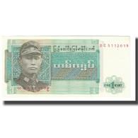 Billet, Birmanie, 1 Kyat, KM:56, NEUF - Sri Lanka