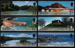 Jersey 2007 - Mi-Nr. 1311-1316 ** - MNH - Natur - Landschaften - Jersey
