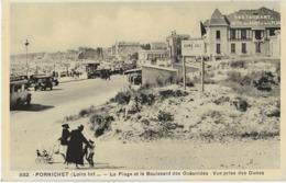 PORNICHET - LA PLAGE ET LE BOULEVARD DES OCEANIDES - BELLE ANIMATION - VERS 1930 - Pornichet