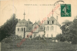 63.  PIONSAT . Le Château De Montroy . - France