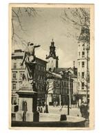 GG 1942: AK Lemberg Halitschplatz Nach Leipzig - Ocupación 1938 – 45