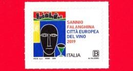 Nuovo - MNH - ITALIA - 2019 - Sannio Falanghina – Vino – Logo - B - 6. 1946-.. Repubblica
