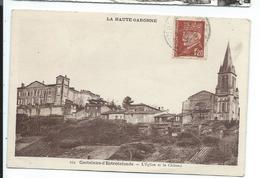 Castelnau D'estrefonds , L'eglise Et Le Chateau - France