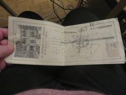 12 Traites Illustrées De La Maison VASSEUR Et Compagnies EDITEURS à PARIS,timbres Fiscals ,vendu Comme C'est - Documents Historiques