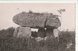 ROULLET - CPSM : Dolmen De La Boucharderie - France