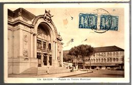 25192 - SAIGON Pour La France TB - Indocina (1889-1945)