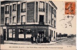 BEZONS-CAFE TABAC A L'ESPERANCE.RUE VICTOR HUGO.ANGLE DE LA RUE FRANCOIS DE PRESSENSE - Bezons