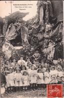 COURDEMANCHE-FETE DIEU 20 JUIN 1909-REPOSOIR - Other Municipalities