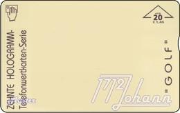 AUSTRIA Private: *10. Hologr. - Golf* - SAMPLE [ANK F529] - Oesterreich