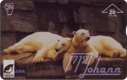 AUSTRIA Private: *Tiergarten Schönbrunn 10 - Eisbären* - SAMPLE [ANK F536] - Autriche