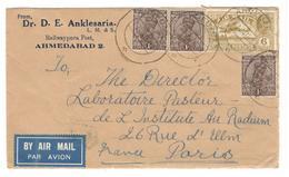 25205 - De AHMEDABAD Pour La France - 1911-35  George V