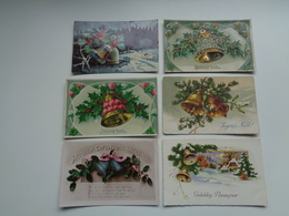 Beau Lot De 60 Cartes Postales De Fantaisie  Cloches  Cloche    Mooi Lot Van 60 Postkaarten Fantasie  Klokken  Klok - Postkaarten