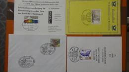 Lot De 56 Documents Philatéliques (Ersttagsblatt) Avec Oblitérations 1er Jour D'Allemagne  A Saisir !!! - Francobolli