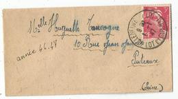 GANDON 3FR SEUL MIGNONNETTE VILLENEUVE SUR LOT 1.1.1947 TARIF 1 JOUR RARE SUPERBE - 1945-54 Marianne Of Gandon