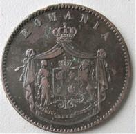 ROUMANIE, Carol 1er, 10 Bani 1867 Heaton, TTB - Romania