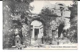 Cpa Nîmes - Le Temple De Diane (Monument Romain). - Nîmes