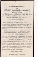 Wijtschate, Wytschate,Wytschaet,Poperinge, 1945, Henri Vanderhaeghe, Pillaert - Images Religieuses