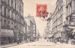 AVIT18-  PARIS  LA RUE DE TOCQUEVILLE  LA BOUCHERIE DE TOCQUEVILLE   CPA  CIRCULEE - Distretto: 17