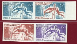 New Caledonia 1971 #C82, Color Proof X4, 4th South Pacific Games, Pole Vault - Neukaledonien
