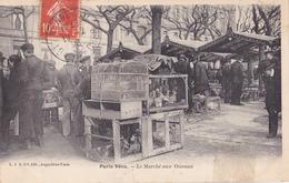 AVIT18- PARIS VECU  METIER LE MARCHE AUX OISEAUX CPA  CIRCULEE - Artigianato Di Parigi