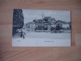 Thun Thoune Vue Generale Cpa - BE Berne