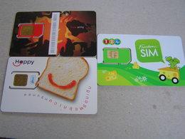 Thailand  Unused SIM Cards ,date Expired   LOT 1 - Tailandia
