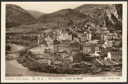 CP 05 Serres - Vue Générale, Vallée Du Buech - France