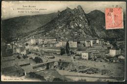 CP 05 Serres - Vue Générale, Rocher De La Pignole 1927 - France