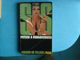 LIVRE - SAS - Numéro 76 -PUTSCH A OUAGADOUGOU -  Gérard De VILLIERS - Gerard De Villiers