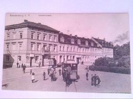 Brandenburg An Der Havel. Bahnhofstraße. Kutsche. AK. - Deutschland