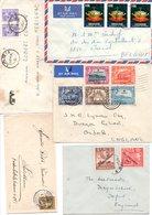 Accumulation De Près De 1300 Lettres Du Monde Sauf France - Vrac (min 1000 Timbres)