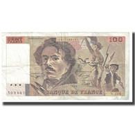 France, 100 Francs, Delacroix, 1993, BRUNEEL, BONARDIN, VIGIER, TTB - 1962-1997 ''Francs''