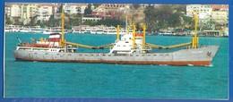 Schiffe; Old Lady, MS Bleichen Gutfrachter; Hamburg; Big, Grandformat 200x85mm - Cargos
