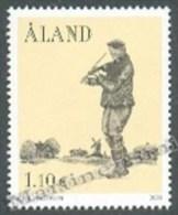 Aland - 2003 Yvert 226, Music,  The Musician, Violonist - MNH - Aland