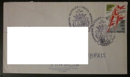 Espagne - Enveloppe - 1992 - JO Galgary - Santa Barbara - 1991-00 Lettres