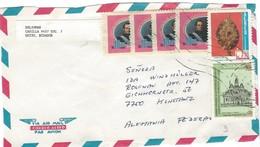 COVER CORREO ECUADOR - VIA AIR MAIL- GUAYAQUIL - KONZANZ - GERMANY. - Ecuador