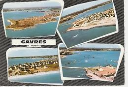 19 / 11 / 473  -  GAVRES  ( 56 ).   C P M. 4  VUES - Frankrijk