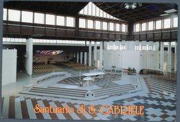 °°° Cartolina - Santuario S. Gabriele Dell'addolorata Nuovo Santuario Viaggiata °°° - Teramo