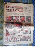 COEURS VAILLANTS 1936 N° 34 LE RAYON DU MYSTERE TINTIN ET MILOU En EXTREME ORIENT HERGE - Tintin
