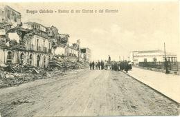 17821 - Reggio Calabria - Rovine Di Via Marina E Del Mercato F - Reggio Calabria