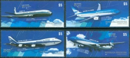 ARGENTINA 2014 COMMERCIAL AIRCRAFT** (MNH) - Unused Stamps