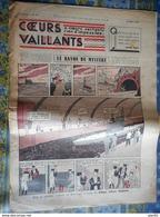 COEURS VAILLANTS 1936 N° 27 LE RAYON DU MYSTERE TINTIN ET MILOU En EXTREME ORIENT HERGE - Tintin