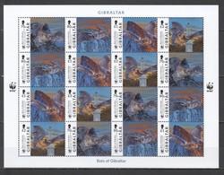 SS776 GIBRALTAR ANIMALS & FAUNA WWF BATS #1832-5 !!! MICHEL 48 EURO !!! 1SH(4SET) MNH - W.W.F.