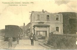 17823 - Reggio Calabria - Terremoto Nelle Calabria - Settembre 1905 Parghelia  - La Stazione - Reggio Calabria