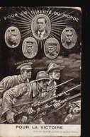 CPA//355.....POUR LA VICTOIRE - Militaria