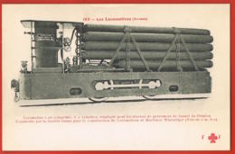 Les Locomotives - Suisse- Collection Fleury  183-Locomotive Employée Pour Les Travaux De Percement Du Tunnel Du Simplon - Zubehör