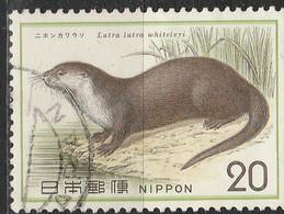 PIA - JAP - 1974  : Protezione Dela Natura - Lontra - (Yv  1115) - 1926-89 Emperor Hirohito (Showa Era)