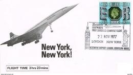 Concorde British Airways London New York 22.11.1977 - Concorde
